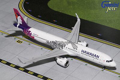 Gemini200 Hawaiian Airlines Airbus A321neo G2HAL675 1/200, REG# N202HA. New