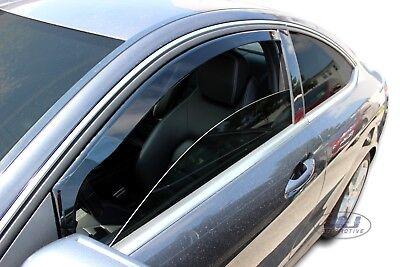 4 Deflettori Aria Antiturbo Mercedes Classe C W204 2007-2014 Berlina 4 porte