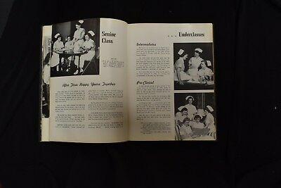1954 Pink Cross Conemaugh Valley School of Nursing Johnstown PA Signed Yearbook 4