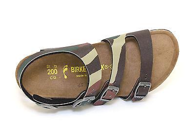 c57fae4b09963 1 di 5Spedizione gratuita Sandalo da bambino camo militare Birkenstock  camberra junior casual moda mare
