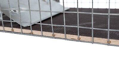 80x28x28cm große Marderfalle Lebendfalle Kaninchenfalle Tierfalle Drahtfalle 6