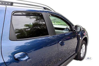 Dacia Duster II 2018-prés Deflecteurs d'air Déflecteurs de vent 4pcs
