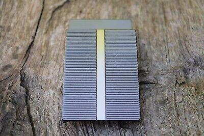 Metall Gürtelschnalle Passend für 35mm 3.5cm Gürtel Silber//Metallisch Farbe