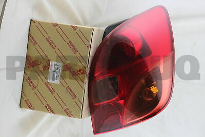 8155113510 Genuine Toyota LENS, REAR COMBINATION LAMP, RH 81551-13510 3