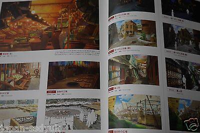 The Boy and the Beast JAPAN Mamoru Hosoda Bakemono no Ko Art Book