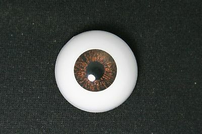 Doll  eyes 14 mm 1 pair Blue with lashes for bjd dollfie craft