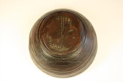 Cuenco de madera hecho a mano. Recipiente de madera. Bol. Vaso de madera. Vasija 2