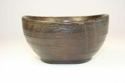 Cuenco de madera hecho a mano. Recipiente de madera. Bol. Vaso de madera. Vasija 4