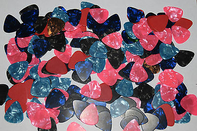 GUITAR PICKS JOB LOT X 12 FOR ELECTRIC,ACOUSTIC AND BASS..NEW Free P&P!