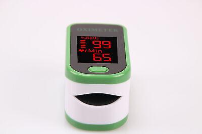 Finger Pulse Oximeter Portable Heart Rate SPO2 Monitor Blood Oxygen Meter Sensor 2
