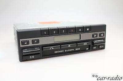 porsche radio becker europa 2000 be1100 kassette oldtimer. Black Bedroom Furniture Sets. Home Design Ideas