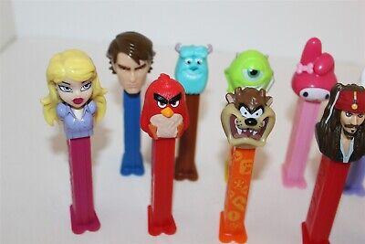 Pez Dispensers Bulk Lot Hello Kitty Star Wars Monster Inc Taz Etc... 2