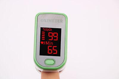 Finger Pulse Oximeter Portable Heart Rate SPO2 Monitor Blood Oxygen Meter Sensor 6