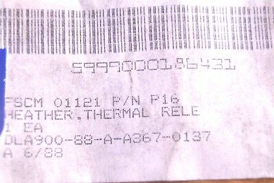 Rockwell Thermal Release Heater P/N: P16 3