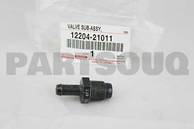00-05 Echo PCV Vent Valve NEW genuine Toyota OEM 1220421011