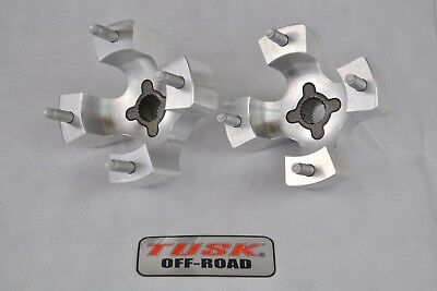 Tusk Extended Rear Hubs Front Wheel Spacers Widening Kit YAMAHA YFZ450 2004-2014