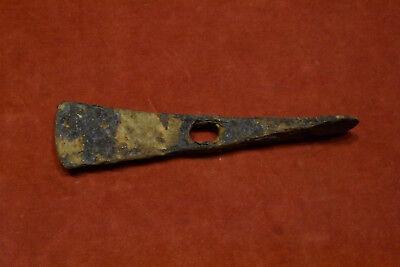 Viking iron axe 130g RARE! 6