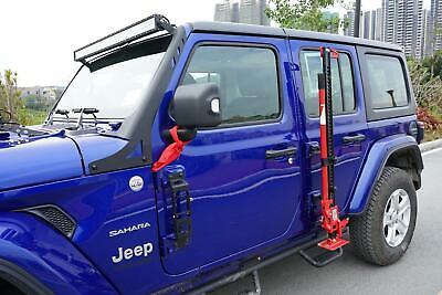 52 Led Light Bar Mount Bracket Textured Black For Jeep