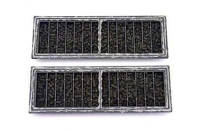 5 X Aqua One Tank Compatible Bj Filters For Xpression 17 21 27 32 = 6 Months F/p 3