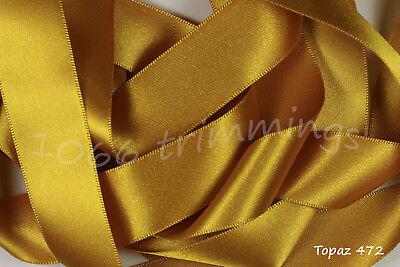 Berisfords Bridal White 15mm Double Sided Satin Ribbon 1m//5m//10m//20m//100m