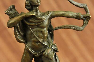 Dios Libro Extremo Escultura Estatua Mythical Figura Regalo Apollo de Bronce T 10
