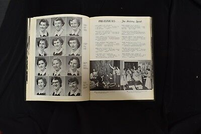 1954 Pink Cross Conemaugh Valley School of Nursing Johnstown PA Signed Yearbook 5