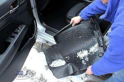 3D EXCLUSIVE TAPIS DE SOL EN CAOUTCHOUC pour BMW X3  E83  2004-2010  4pcs 4