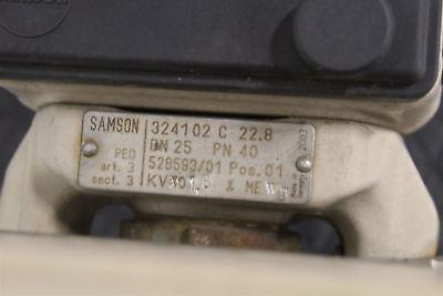 Samson 3730-3 Hart Capable Positioner Pneumatic Actuator Positioner 6