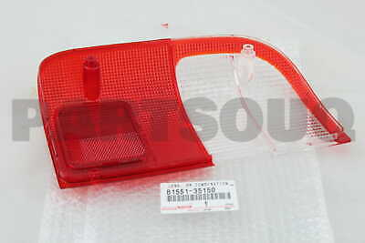8155135150 Genuine Toyota LENS, REAR COMBINATION LAMP, RH 81551-35150