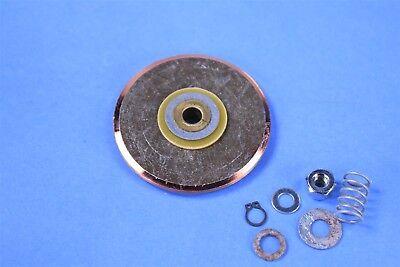 Brake Rotors Rear Kit POWERSPORT BLACK *DRILLED ONLY* CERAMIC PADS BP01121