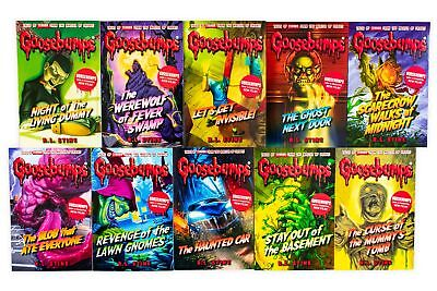 Goosebumps Classic Series 10 Books Children Collection Paperback By R L Stine 4