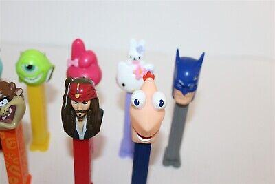 Pez Dispensers Bulk Lot Hello Kitty Star Wars Monster Inc Taz Etc... 4