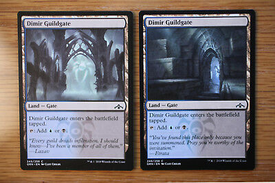 Lot Of 10 Guildgate Dual Lands Full Set Lot Guilds Of Ravnica Nm Mint Mtg 2 50 Picclick Dual lands or duals is common slang for any nonbasic land that produces two colors of mana, particularly the ten original rare lands printed from alpha to revised. lot guilds of ravnica nm mint mtg