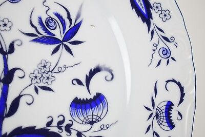 "House of Prill Porcelain - blue onion pattern - lot of 2 10 1/4"" dinner plates 3"