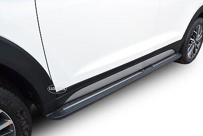 Paupière approche Cup barres pour HYUNDAI TUCSON mk3 facelift noir mat