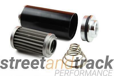 Kraftstofffilter Benzin Filter 60mm AN8 auswaschbar High Flow Tuning Motorsport 2