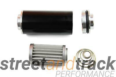 Kraftstofffilter Benzin Filter 60mm AN8 auswaschbar High Flow Tuning Motorsport 3