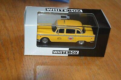 "209610 WHITEBOX WB194 Checker Marathon /""New York Taxi/"" gelb Maßstab 1:43 NEU!°"