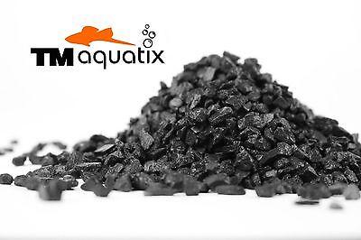 20 KG NATURAL BLACK AQUARIUM GRAVEL 2-5mm AQUASCAPING IWAGUMI IDEAL FOR PLANTS 2