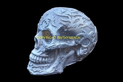 NEW DESIGNS LATEX MOULD MOLDS TO MAKE DETAILED ORNAMENT SKULL 4 PIRATE DESIGNS