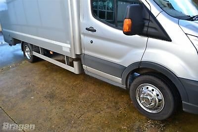 """To Fit 14+ Ford Transit MK8 Luton Body Minibus 16"""" Dual Wheel Trims Cover Sleeve 3"""