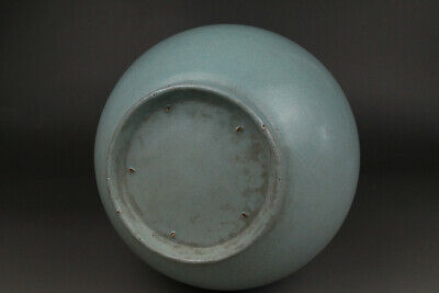 A Fine Collection of Chinese 11thC Song Ru Ware Porcelain Matrass Vases 12