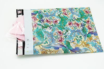 100 12x15.5 Paisley Designer Poly Mailers Envelopes Boutique Custom Bags 3