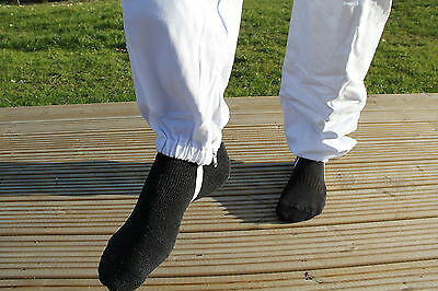 White Apiary Additions Beekeeping Bee Suit with Round Veil - All Sizes - 260gsm 2