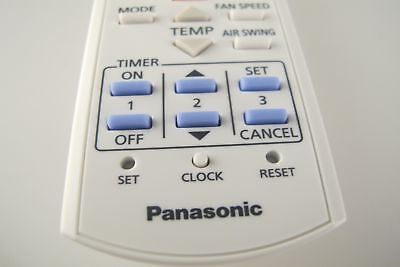 PANASONIC GENUINE AIR Conditioner Remote Control CWA75C3623 Fits Many Models