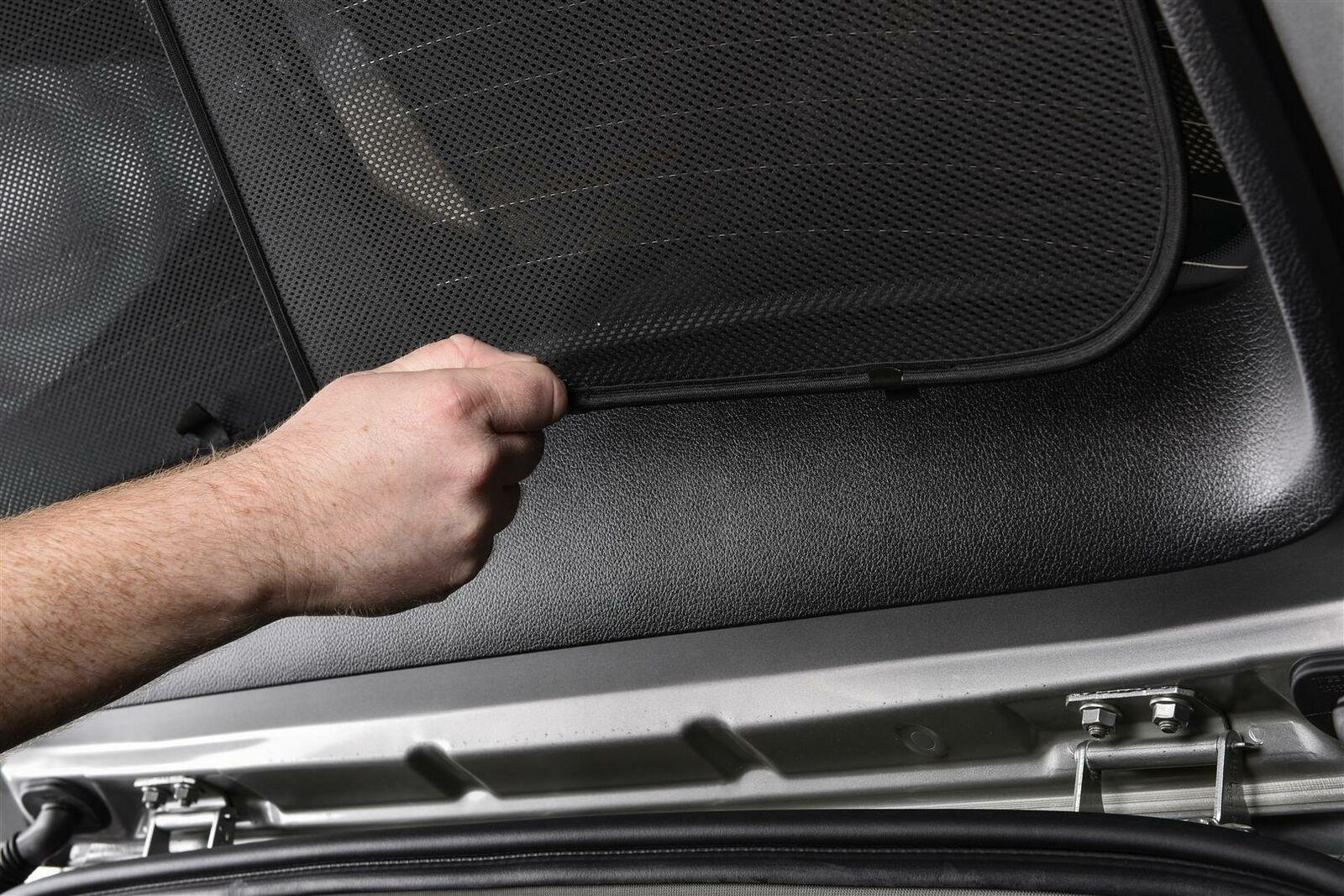 Satz Car Shades kompatibel mit Hyundai i10 5 t/ürer 2007-2012 ohne Dachspoiler