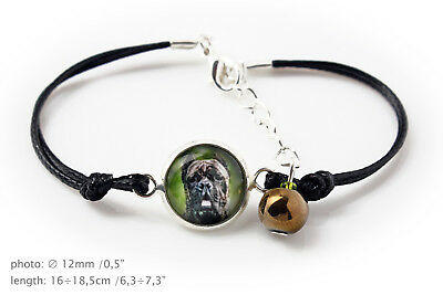 Cane Corso. Bracelet with box for people who love dogs. Photojewelry. UK 2