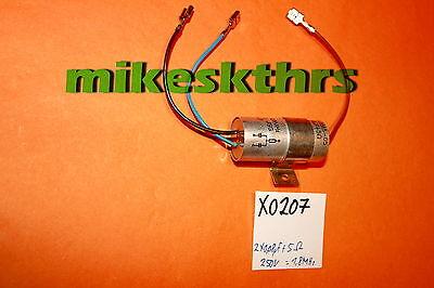 1,5Mohm 250V Funkentstörkondensator uF X0199 Entstörkondensator 0,2µF+2x5000pF