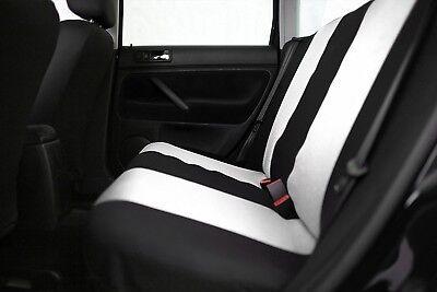 Sitzbezüge Sitzbezug Schonbezüge für Fiat Punto Schwarz Modern MP-1 Komplettset