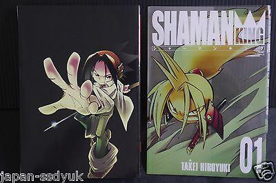 JAPAN Hiroyuki Takei manga Shaman King Kanzenban vol.1